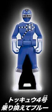 ToQ 4 Blue Ranger Key