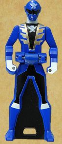 Gokai Blue Ranger Key