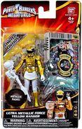 Ultra Metallic Force Yellow Ranger