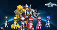 Power Rangers Operation Overdrive in Power Rangers Dash