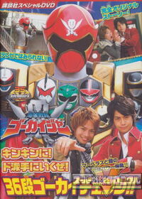 DVD Roughly 36 Round Gokai Change