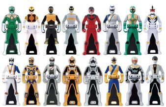 Legendary 6th Ranger Keys