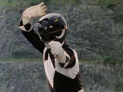 Mighty Morphin Black Ranger Pose