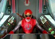 Ninja Storm red cockpit