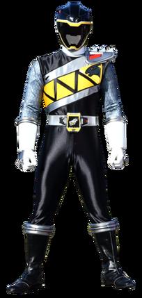 File:Black Dino Charge Ranger & Kyoryu Black.png