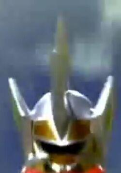 Triceramax Megazord helmet