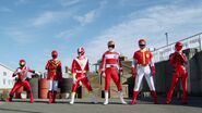 Go-Busters vs. Gokaiger - All-Red