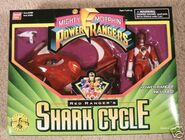 Red Ranger's Shark Cycle