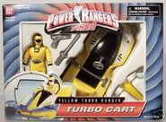 Yellow Turbo Ranger Turbo Cart