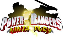 Power Rangers Ninja Fury logo