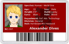 Alex ID Front