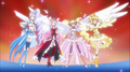 Cure Angels Finishing Pose