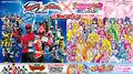 Movie Precure and THE MOVIE Gokaija Kaizoku Sentai Tokumei Sentai Go VS Busters
