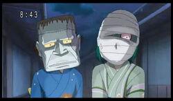 Rin & Komachi masks