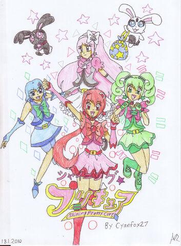 File:Shining Pretty Cure Poster by Manga Magician Girl1.jpg