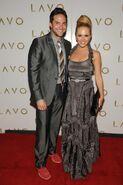 Brandon-Barash-and-Natalie-Hall-at-LAVO