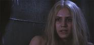 Sara Harvey in the dollhouse