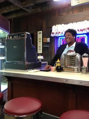 Waitress Marlene in Season 3 (Finale)