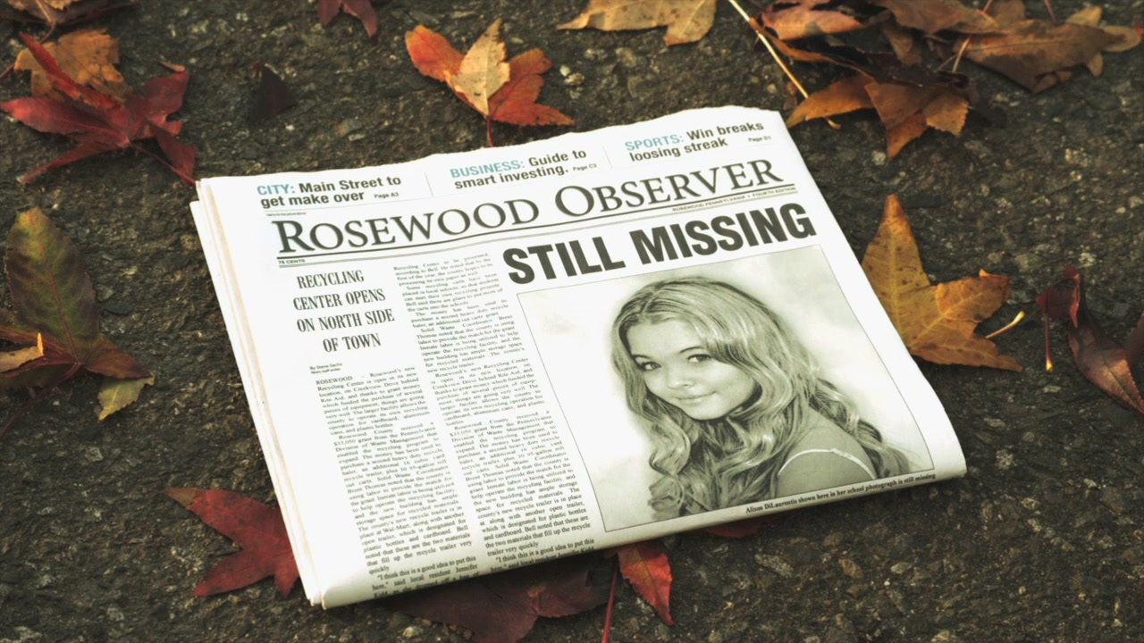 Images Pretty Little Liars Missing Poster – Make Missing Poster