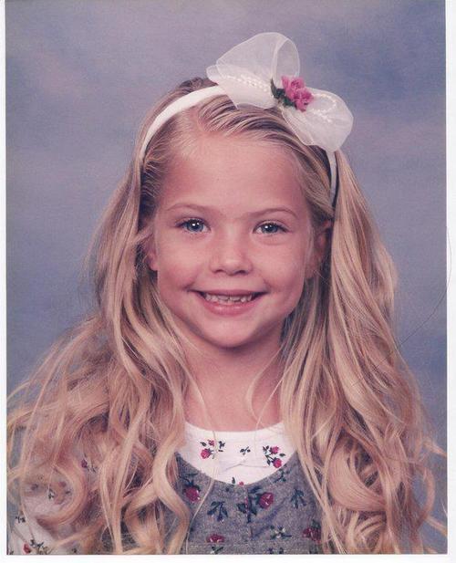Ashley Benson as a kid