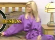 Teri Harrison in Satin Sleepwear-8