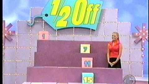 The Price is Right 1 2 off premiere