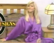 Teri Harrison in Satin Sleepwear-7