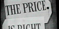 The Price Is Right (1956 – 1965, U.S. Version)