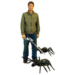 Stephen and 3 Giant Spiders