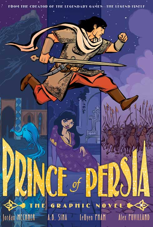 Graphic Novel Book Cover ~ Image pop graphic novel cover g prince of persia