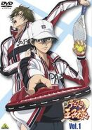 New Prince of Tennis DVD cover
