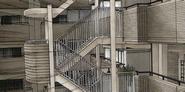 Akutsu's apartment complex