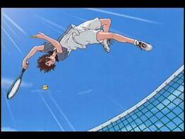 Gakuto using Acrobatic play