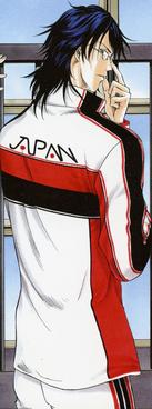 Oshitari Yushi in Uniform.
