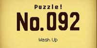 Wash Up