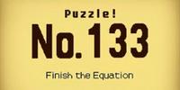Finish the Equation
