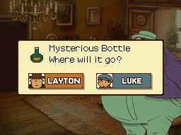 Mysterious Bottle