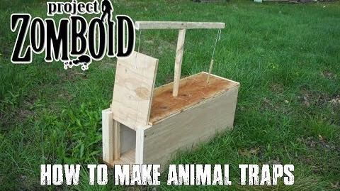 PROJECT ZOMBOID TUTORIALS - 9 - How To Make Animal Traps