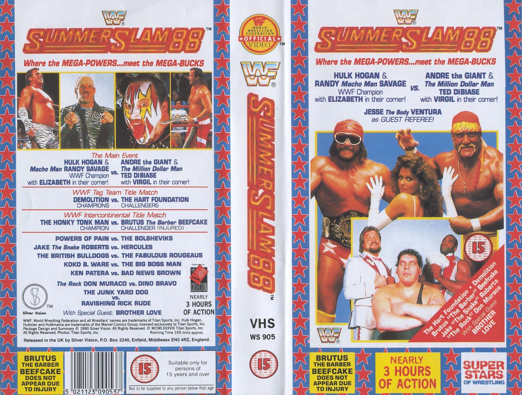 WWF Summerslam 1988 Review - YouTube