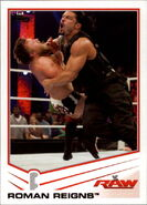 2013 WWE (Topps) Roman Reigns (No.33)
