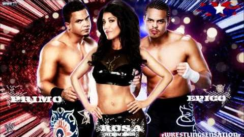 """Epico,Primo & Rosa Mendes 1st WWE Theme Song - """"Barcode"""" (WWE Edit) HQ+Download Link"""