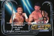 Tajiri vs Eddie Guerrero
