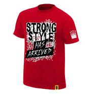 Shinsuke Nakamura Strong Style Has Arrived Youth Authentic T-Shirt
