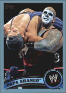 2011 WWE (Topps) Papa Shango 104