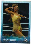 2015 Chrome WWE Wrestling Cards (Topps) Rosa Mendes 60