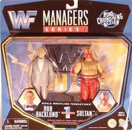 Bob Backlund & Sultan (WWF Managers 1)