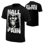 Mark Henry Hall of Pain T-Shirt