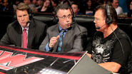 Michael Cole, Jerry Lawler & JBL - Monday Night Raw 2013