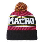 Macho Man Randy Savage Pom Knit Beanie Hat