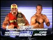 Hollywood Hulk Hogan vs Chris Jericho